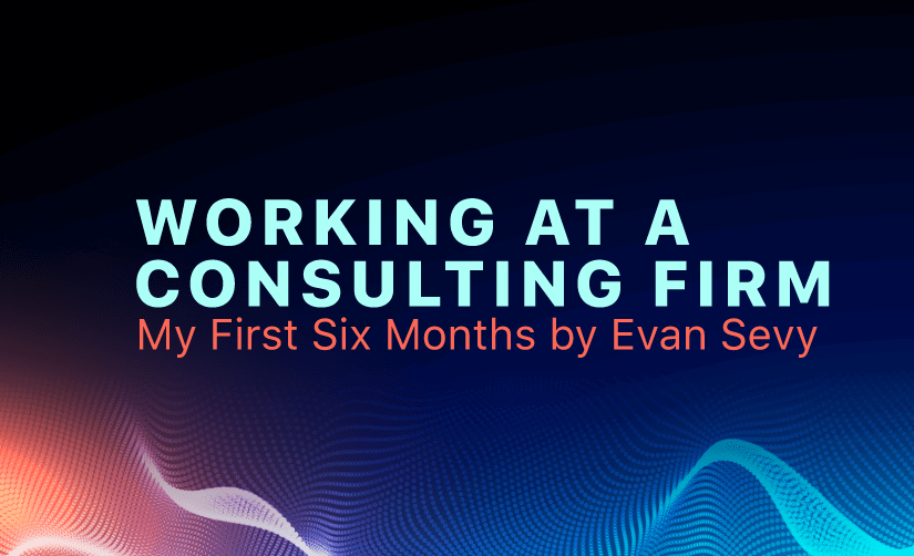 Working at a Consulting Firm - My First Six Months